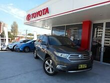 2010 Toyota Kluger GSU40R MY11 Upgrade KX-S (FWD) Graphite 5 Speed Automatic Wagon Allawah Kogarah Area Preview