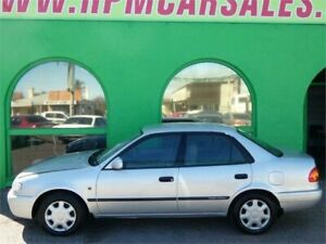 2001 Toyota Corolla AE112R Ascent Silver 4 Speed Automatic Sedan Nailsworth Prospect Area Preview