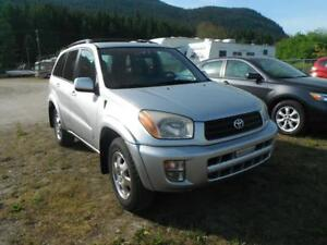 2001 Toyota RAV4 AWD Limited