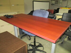 Sit Stand Height Adjustable Table Desk Peterborough Peterborough Area image 1