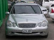 2003 Mercedes-Benz C200 Kompressor S203 MY2003 Elegance Zircon Silver 5 Speed Sports Automatic Wagon Nailsworth Prospect Area Preview
