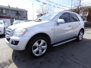 2009 MERCEDES-BENZ ML320 BLUETEC 4MATIC (NAVI, DVD, CUIR, TOIT!)