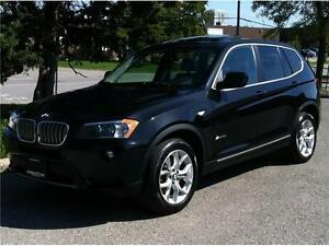 2013 BMW X3 28i X-DRIVE - PANORAMIC|PARK ASSIST|1 OWNER|80,000KM