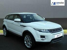 2013 Land Rover Range Rover Evoque SD4 PURE Diesel white Manual