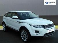 2013 Land Rover Range Rover Evoque SD4 PURE Diesel white Manual