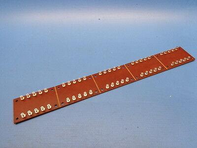 (1) 50 position Turret Board Winchester Litton Scored Terminal Board 8003-C-4 ?