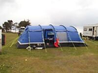 10 man tent and equipment
