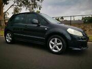 2007 Suzuki SX4 GY S Black 4 Speed Automatic Hatchback Blair Athol Port Adelaide Area Preview