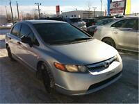 2007 Honda Civic DX-G Sedan, A/C, CRUISE, 1.8L, ...