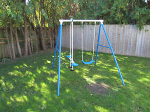 PlaySafe Swing Set with Glider - $50.00