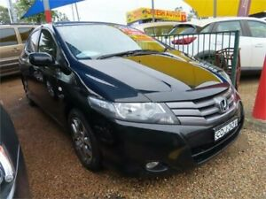 2011 Honda City GM MY11 VTi-L Black 5 Speed Manual Sedan Minchinbury Blacktown Area Preview