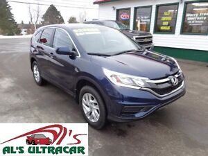 2015 Honda CR-V SE 4x4 for only $187 bi-weekly all in!