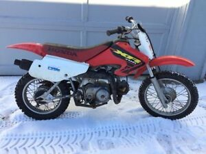 2001 HONDA XR70R