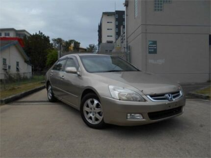 2003 Honda Accord 7TH GEN V6 Luxury Gold 5 Speed Automatic Sedan Southport Gold Coast City Preview