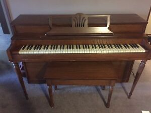 FREE Chopin Piano and Bench (must pick up by August 31)