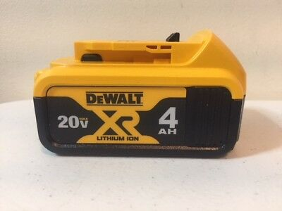 DeWalt DCB204 20V 20 Volt 4 Amp Lithium Ion Battery- Latest 2018 Model!!