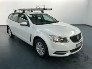 2014 Holden Commodore VF Evoke Heron White 6 Speed Automatic Sportswagon Sunshine North Brimbank Area Preview