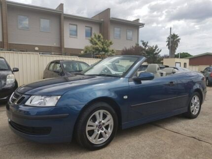 2006 Saab 9-3 442 Linear Convertible 2dr Spts Auto 5sp 1.8T [MY06] Blue Sports Automatic Convertible