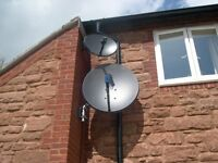 Sky Dish Installation