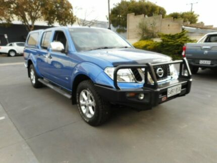 2012 Nissan Navara D40 ST-X 550 (4x4) Blue 7 Speed Automatic Dual Cab Utility