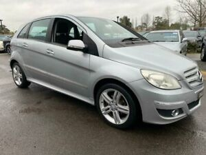 2010 Mercedes-Benz B-Class W245 MY10 B180 Silver 1 Speed Constant Variable Hatchback