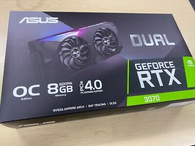 NEW SEALED ASUS Dual-RTX3070-O8G OC Edition Gaming Graphics Card nVidia 3070