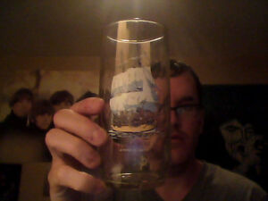 HMS Rose Drinking Glass