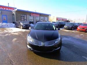 2014 Lincoln MKZ All Wheel Drive Leather Roof Navi Loaded