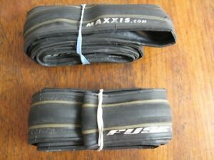 Pneus Maxxis Fuse tires used/usagés 700x23c $25/pair