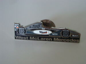 McLaren Mercedes lapel pin
