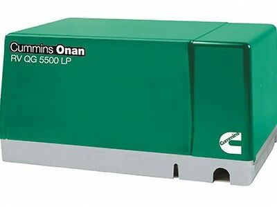 Cummins Onan 5.5 Hgj-ab 901 Rv Gasoline Generator Set Rv Qg 5500