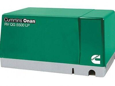 Cummins Onan 5.5 Hgj-ab 901 Rv Gasoline Generator Set Rv Qg 5500