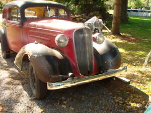 1936 -2 door chevy Maybe trade! + CASH --