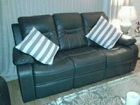 3 piece suite, sofa + 2 chairs