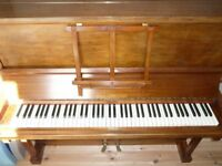 Paul Gerhard upright piano FREE TO COLLECTOR