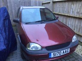 Vauxhall Corsa S reg