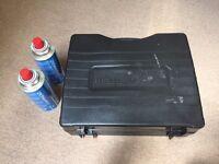 Portable gas stove and 2 campingaz - Brand New