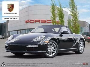 2011 Porsche Boxster Certified Pre-owned | Manual | LOW KMS!