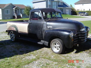 1952 project modified truck