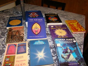 Numerous spiritual occult books, Crowley and more Kingston Kingston Area image 9