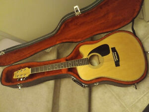 Samick Galloway Acoustic Electric w/ hardcase