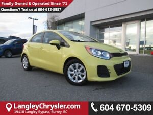 2016 Kia Rio LX+ <b>*ACCIDENT FREE*POWER GROUP*<b>