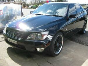 1999 Lexus IS200 GXE10R Sports Luxury Black 4 Speed Automatic Sedan Camden Camden Area Preview