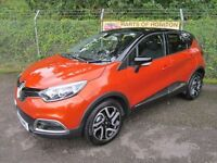 Renault Captur 1.5 Dynamique S MediaNav DCi 90 5DR TURBO DIESEL (arizona / black roof) 2016