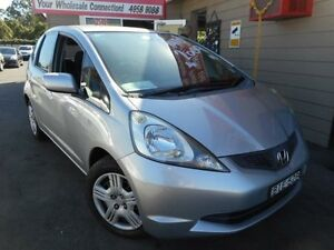 2008 Honda Jazz GE GLi Silver 5 Speed Automatic Hatchback Edgeworth Lake Macquarie Area Preview