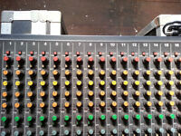 Tascam M-216 16x4x2 Channel Mixer