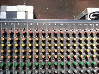 Tascam M-216 16x4x2 Channel Mixer