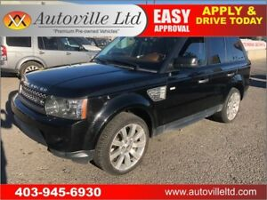 2011 LAND ROVER RANGE ROVER SPORT SUPERCHARGED NAVI BACKUP CAM