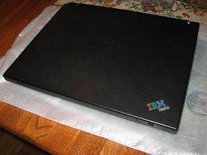 Portable IBM Thinkpad Model R31