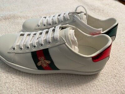 GUCCI Women's Ace Sneakers Shoes, size 38, New in Box